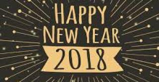 Een leerzaam, gezond en gelukkig 2018!