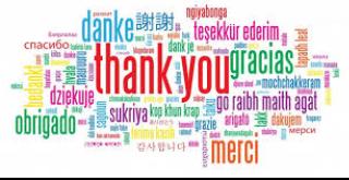 Bedankt allemaal!