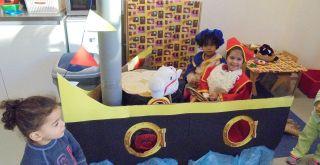 Sinterklaassfeer op de voorschool.